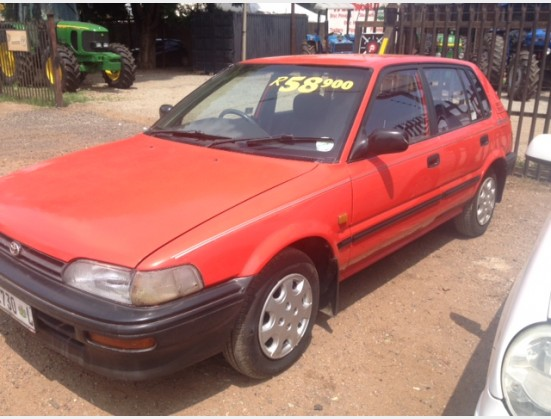 1994 Red Toyota Conquest RS 1.6i Pre-Owned Car