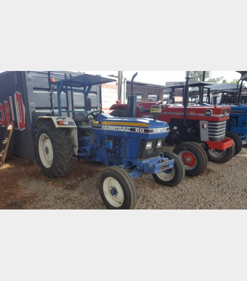 Farmtrac 60 50Hp Pre-Owned Tractor