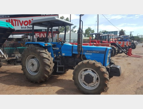 Landini 8860 59.7Kw / 80 Hp 4x4 Pre-Owned Tractor
