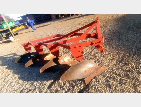 Red U Make 4 Furrow Plough Frame Plough