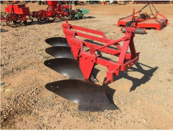 U Make 4 Furrow Frame Plough