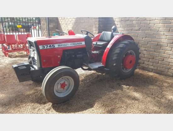 Massey Ferguson (MF) 374s 60Hp / 44Kw 4X2 Pre-Owned Tractor