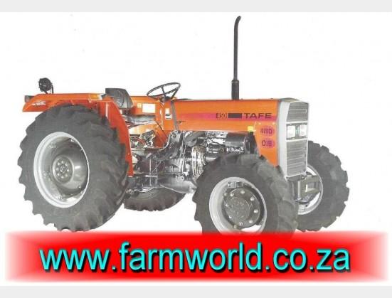 S727 Orange TAFE 45 DI 35kW/47Hp 4x4 New Tractor