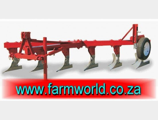 S173 New BPI 1 Furrow Mouldboard Plough With Wheel EXT (OPLV1)