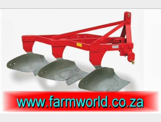S174 New BPI 2 Furrow Mouldboard Frame Plough 14-16