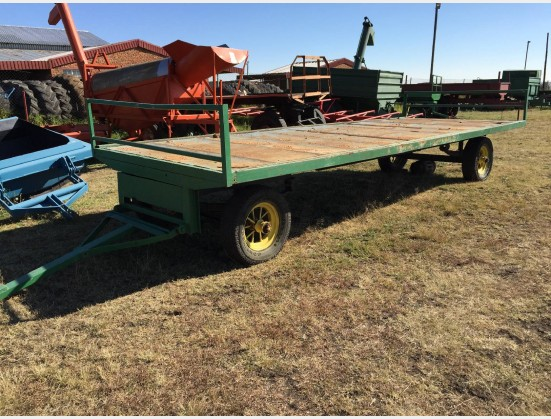 S1835 Pre-Owned Flatbed Trailer