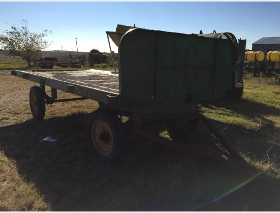 S1853 Pre-Owned Flatbed Trailer