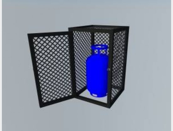 S1912 New AJ StaalWerke Gas Cages All Sizes (GC9SD)