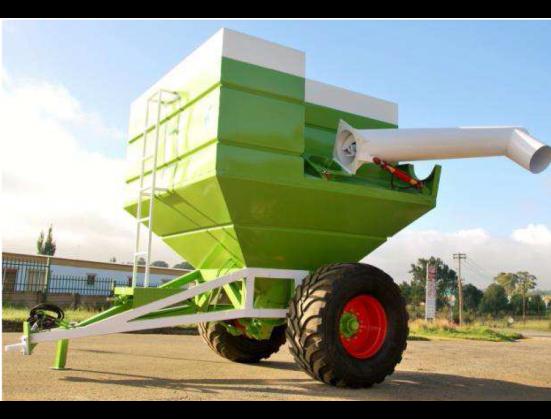 Green Van Zyl Staalwerke 14500L TAPKAR / DEBUILKING TRAILER 80KW New Trailer