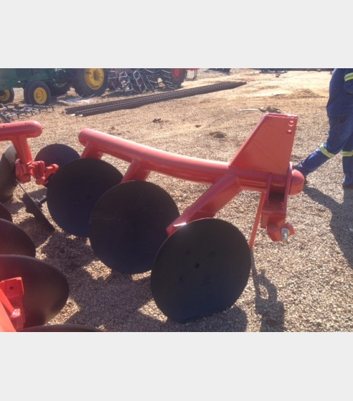 Pre-Owned Implement Unknown Make 3 Disc Pipe Plough / 3 Skottel Pyp Ploeg