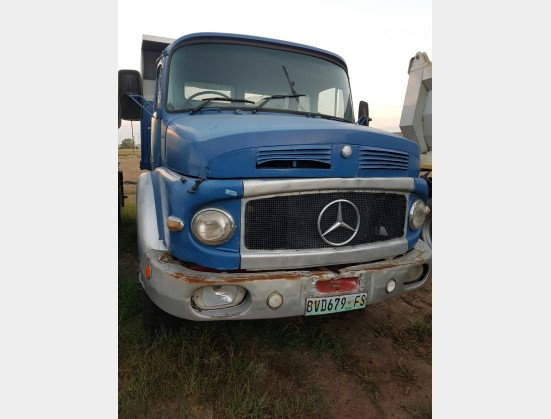 Blue Mercedes Benz 1921 6 Cube Tipper (Offsite) 4X2 Pre-Owned Truck