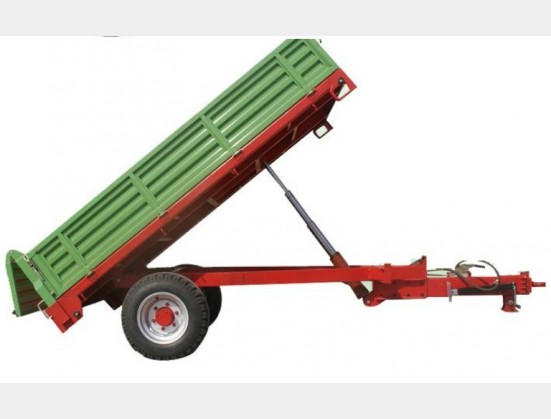 Green RY Agri 2T Tipper Trailer New Trailer