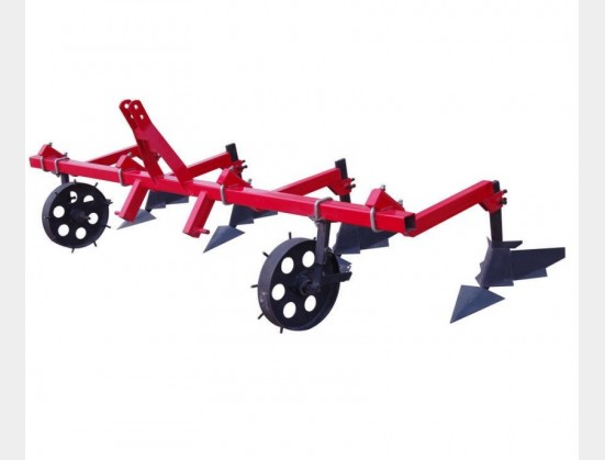 Red RY Agri 4 Tine Cultivator with Wheels New Implement