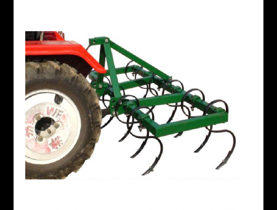Green RY Agri 9 Tine Spring Cultivator With Roller New Implement