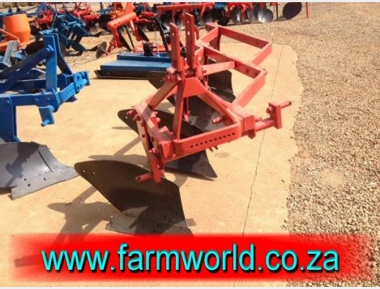 S355 Pre-Owned 4 Furrow Frame Plough / 4 Skaar Raam Ploeg