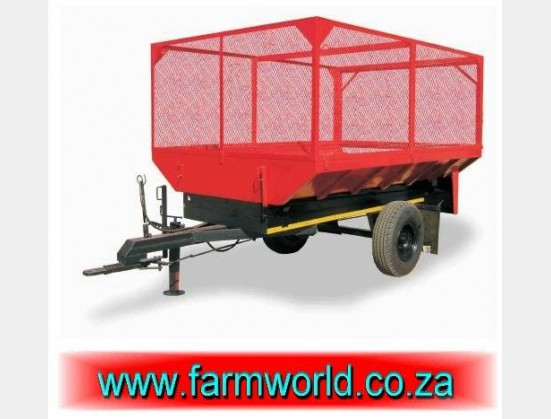 S490 New BPI Cage For 5 Ton Tip Trailer