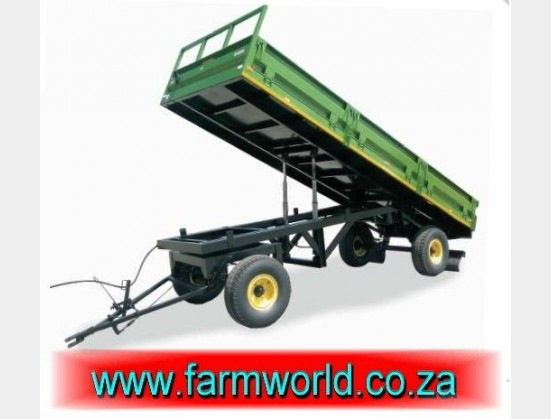 S491 New BPI 8 Ton 4 Wheel Tip Trailer / 8 Ton 4 Wiel Tip Sleepwa (SW8T)