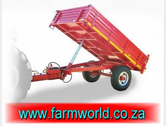S493 New BPI 5 Ton Miggie Medium Duty Tip Trailer / 5 Ton Miggie Medium Diens Wip Wa (MTSW5TE)