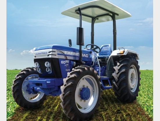 S3106 Blue Farmtrac 6050 50Hp/35kW 4x4 New Tractor