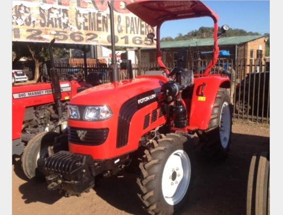 S3107 Red FOTON 504 50Hp/35kW 4x4 New Tractor