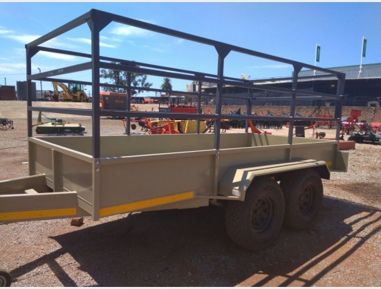 New Verrigter 2.7 Ton Cattle Trailer