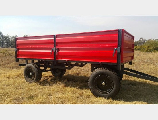 Verrigter 10 ton Bulk Trailer
