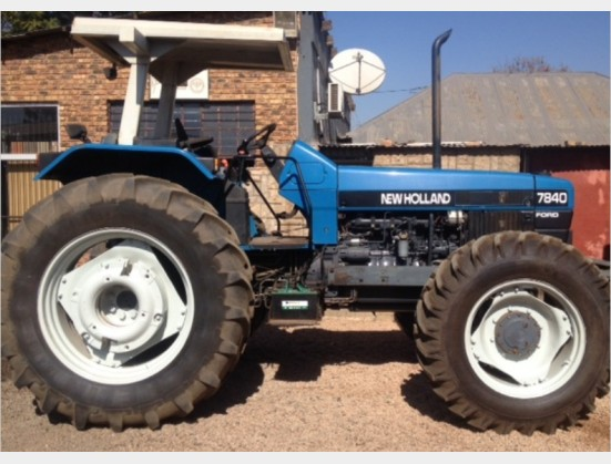 Blue New Holland 7840  4x4