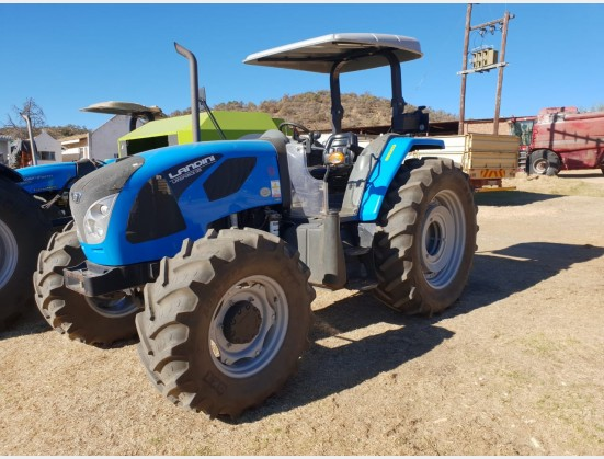 2017 Blue Landini Landforce 125