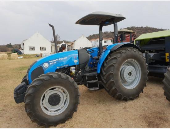 Blue Landini Globalfarm 105   4x4